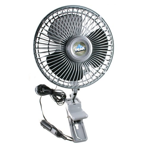 "Peak Pkc0Jh 12 Volt 6"" Clip-On Fan"