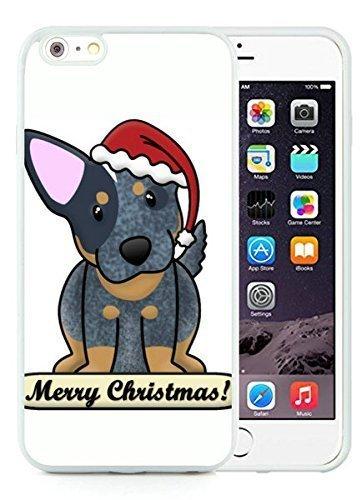 Hot Sell Design iPhone 6 Plus Case,Christmas Dog White iPhone 6 Plus 5.5 TPU Case 16