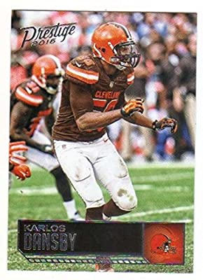 2016 Panini Prestige Football #50 Karlos Dansby Cleveland Browns