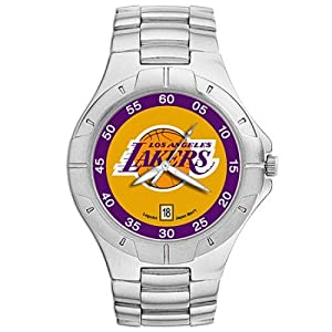 NSNSW22835Q-Los Angeles Lakers Watch - Mens Pro Ii Nba Sport by NBA Officially Licensed