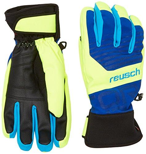 Reusch guanti da uomo Torbenius R-TEX da XT, Uomo, Handschuhe Torbenius R-TEX XT, imperial blue /Neon yellow, 8