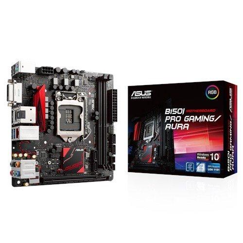 Asustek Computer B150i Pro Gaming/aura S1151 Mitx gln+u3+m2 sata