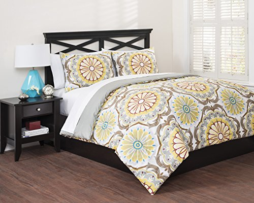 Republic Hippie Boho Reversible Duvet Set, Full/Queen, Full/Queen