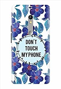 Noise Designer Printed Case / Cover for Motorola Moto X Play / Nature / Dont Touch My Phone Design