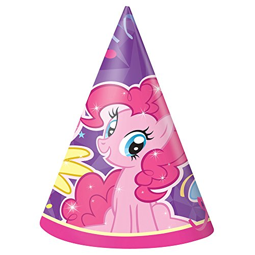 Unique My Little Pony Party Hats (8 Count) - 1