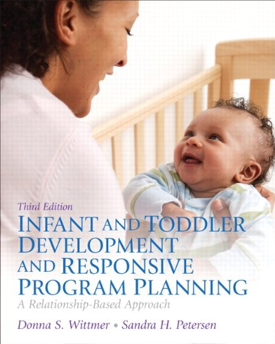 Infant And Toddler Development And Responsive Program Planning: A Relationship-Based Approach (3Rd Edition) front-14435