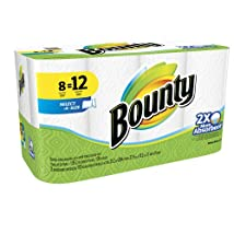 Bounty Select-A-Size Paper Towels White 8 Giant Rolls 8 ct