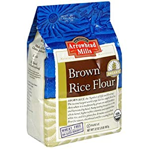 Arrowhead Mills Organic Brown Rice Flour, 2-Pound