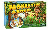 International Playthings Game Zone - Monkeying Around - A Balancing Game with Monkeys Hanging in a Tree for 2-4 Players Ages 4 and Up