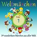 Weltmärchen: 50 wunderbare Märchen aus aller Welt (Weltmärchen 1) Hörbuch von  div. Gesprochen von: Jürgen Fritsche