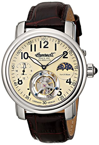 Ingersoll-Mens-IN5306CR-Lahota-Tourbillon-Analog-Display-Mechanical-Hand-Wind-Brown-Watch