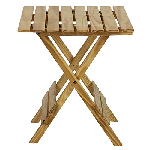 casual home quick folding table made of solid wood small natural ebay. Black Bedroom Furniture Sets. Home Design Ideas