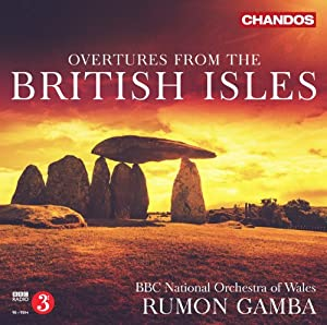 British Overtures [Rumon Gamba, BBC National Orchestra of Wales] [Chandos: CHAN 10797]