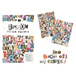 200 x Ransom Fridge Magnets – Alphabet, numbers