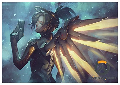 Poster Overwatch - Mercy A3 (42x30 cm)