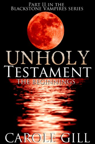 Unholy Testament by Carole Gill ebook deal