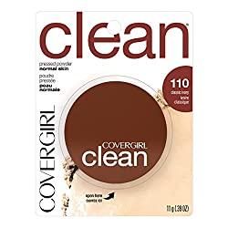 CoverGirl Clean Pressed Powder Classic Ivory (W) 110 0.39 Ounce Pan