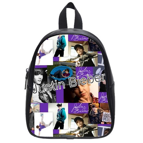 Justin Bible Posters Best Choice For Christmas Gift Custom School Bag Size: Large front-201123