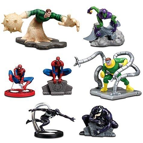 Disney Marvel Spiderman Figure Playset 7 piece