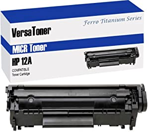 VersaToner - HP 12A (Q2612A) Black (MICR) - Toner Cartridge