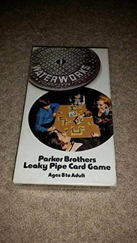 Waterworks: Parker Brothers Leaky Pipe Card Game (1972) - 1