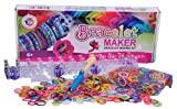 Mazichands-Arts-and-Crafts-for-Girls-Best-BirthdayChristmas-GiftsToysDIY-for-Kids-Premium-BraceletJewelry-Making-KitToy-aka-Friendship-Bracelets-MakerCraft-Kits-with-Loom-Rubber-Bands-Clips-Manual