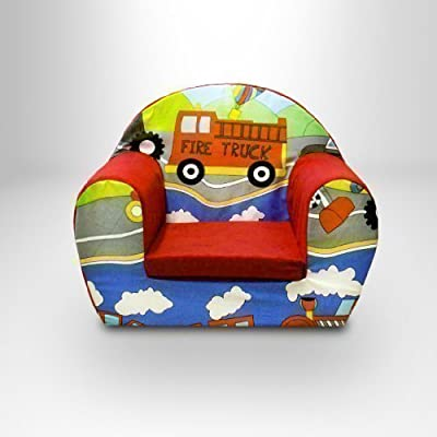 Ready Steady Bed Childrens Toddlers Foam Armchair, Transport