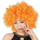 DAYAN Navidad Disfraz COSPLAY christmas decorations peluca Fanáticos del fútbol no iluminado color naranja