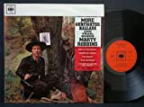 MARTY ROBBINS MORE GUNFIGHTER BALLADS AND TRAIL SONGS [VINYL]