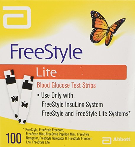 FreeStyle Lite Glucose Test Strips - 100 ct.