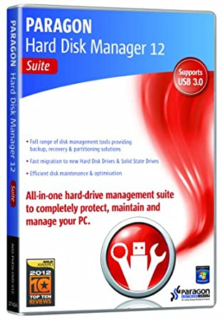 Paragon Hard Disk Manager 12 Suite (PC)