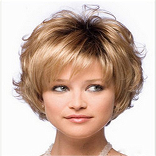 Women S Wig Classical Women S Wigs Short Curly Wavy Hair