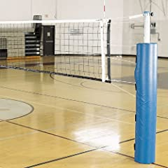 Buy Alumagoal Complete Pro Power Steel Volleyball System (Padding Color: Navy) by Alumagoal