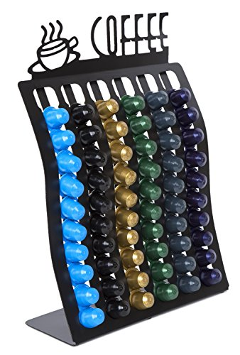 네스프레소 60 캡슐 랙 Nespresso Coffee Pod Rack -- Holder for up to 60 Capsules