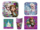 Disney Frozen Party Supplies Pack for 8 - Style A1