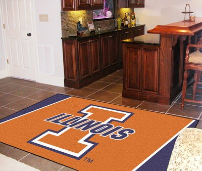 Illinois 4' x 6' Area Rugs