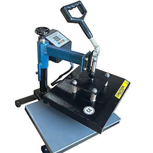 Swing Away 9 x 12 T SHIRT HEAT PRESS MACHINE TRANSFER SUBLIMATION PRESS 9x12BLK (Heat Press With Swing Arm compare prices)