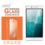 Johra 9H 2.5D Real HD+Tempered Glass Screen Scratch For LYF Water 7 Tempered Glass