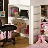 South Shore Furniture, Logik Collection, Loft Desk, Pure White