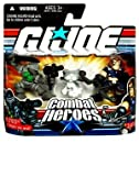 GI Joe Combat Heroes Snake Eyes & Timber the Wolf & Zartan Figure Set