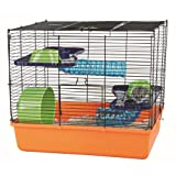 "Trixie 6400 Hamsterk�fig 40 � 38 � 30 cm, orange / blau / gr�nvon ""Trixie"""