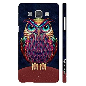 Samsung Galaxy A8 Angry Insomniac designer mobile hard shell case by Enthopia