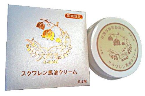 基礎化粧品 北海道スクワレン馬油クリーム80g