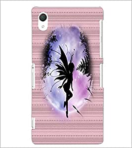 PrintDhaba Angel D-3549 Back Case Cover for SONY XPERIA Z2 (Multi-Coloured)