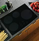 """GE PHP900DMBB Profile 30"""" Black Electric Induction Cooktop"""