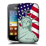 Head Case Designs Liberty American Pride Hard Back Case Cover for Samsung Galaxy mini 2 S6500