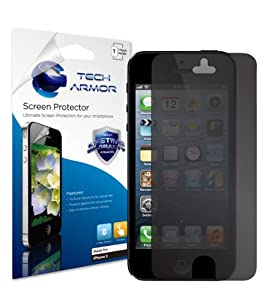 Tech Armor Apple New iPhone 5 Ultimate 4-Way, 360 Degree Privacy Screen Protector with Lifetime Replacement Warranty [1-Pack] - Retail Packaging