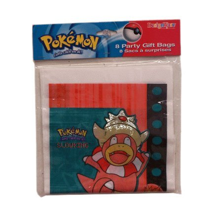 Pokemon Slowking Party Gift Bags ~ Pack of 24 Bags! - 1