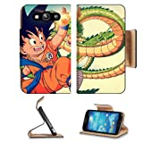 Dragon Ball Goku and Shenron Samsung Galaxy S3 I9300 Flip Cover Case with Card Holder Customized Made to Order... by Liil Galaxy S3 Case