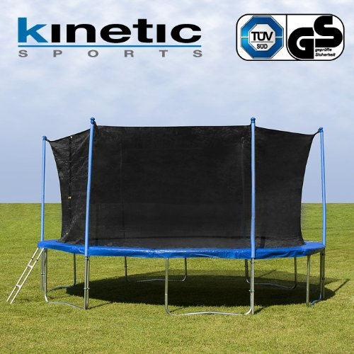 kinetic sports trampolin gartentrampolin mit. Black Bedroom Furniture Sets. Home Design Ideas